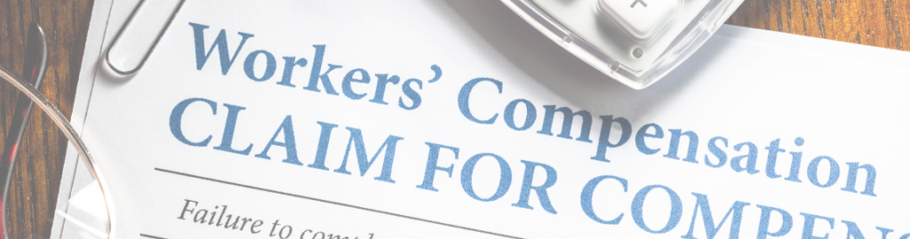 image of workers compensation claim form
